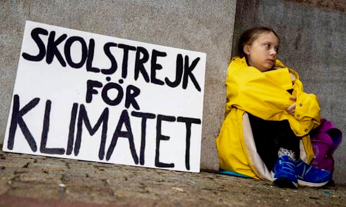 CC I'm with Greta Thunberg FB
