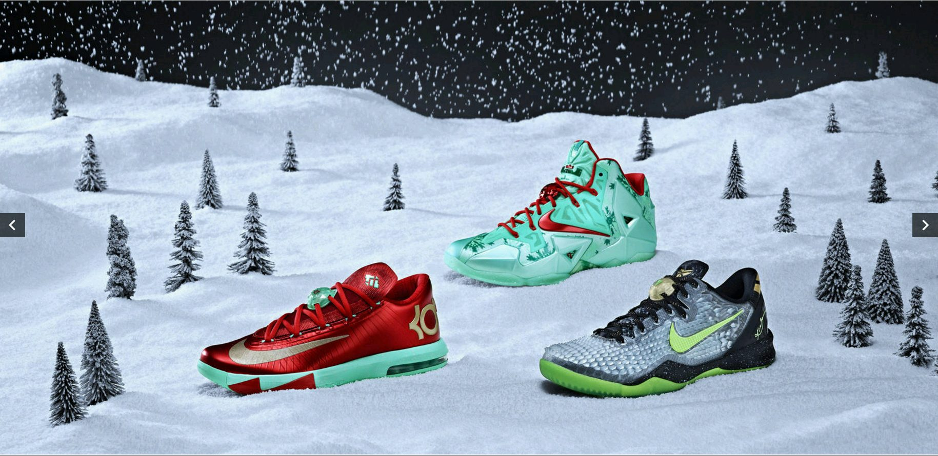 screenshot: https://news.nike.com/news/nike-basketball-unwraps-its-annual-set-of-festive-signature-footwear