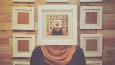 CC Wafaa Samir - zelfportret