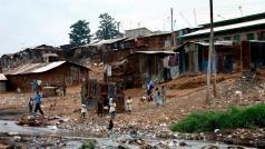 Mathare, aan de rand van Nairobi, is één van de armste en dichtsbevolkte sloppenwijken van Kenia.