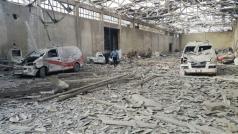 2 vernietigde ambulances door een nieuwe bominslag op het ziekenhuis van Marj
