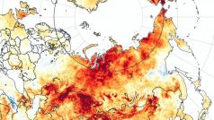 Kaart NASA Earth Observatory