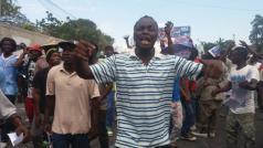 Haïtianen trokken in grote getalen de straat op om verkiezingen een halt toe te roepen