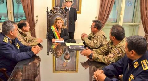 © Senaat van Bolivië
