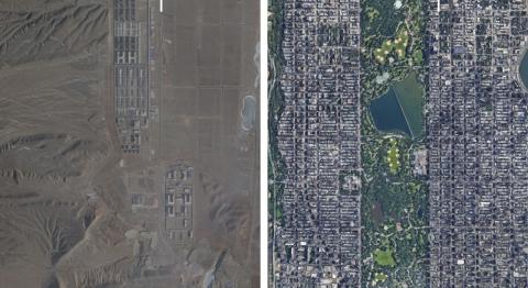Ⓒ Planet Labs; Google Maps