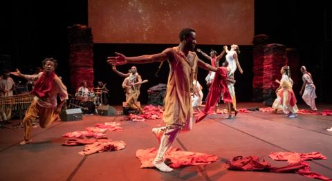 © Philippe Magoni / KIRINA, Serge Aimé Coulibaly & Faso Danse Théâtre
