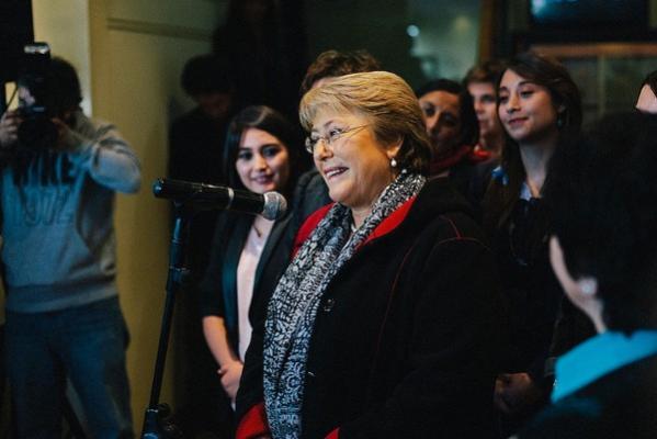 CC Michelle Bachelet/Sabino Aguad