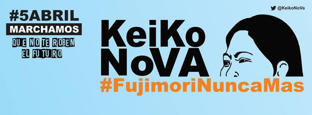© Campaña nacional 'Keiko No Va'