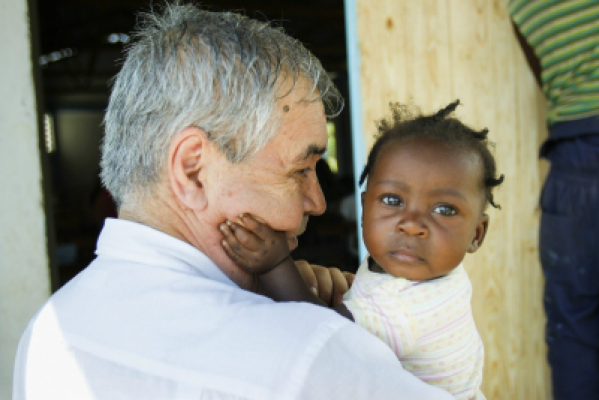 Pedro Medrano Rojas in Haïti
