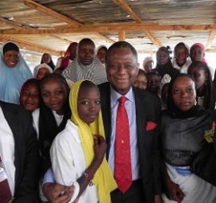 Babatunde Osotimehin visit to Niger