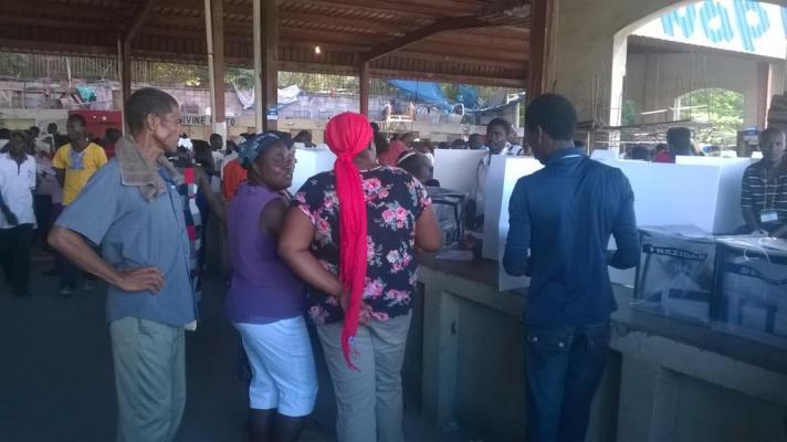 De 1ste ronde van de Haïtiaanse presidentsverkiezingen mobiliseerde maar 25% van het electoraat