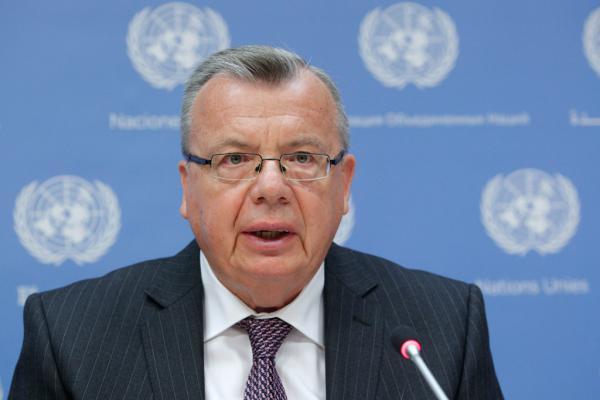 Yury Fedotov, uitvoerend bestuurder van UNODC (United Nations Office on Drugs and Crime)