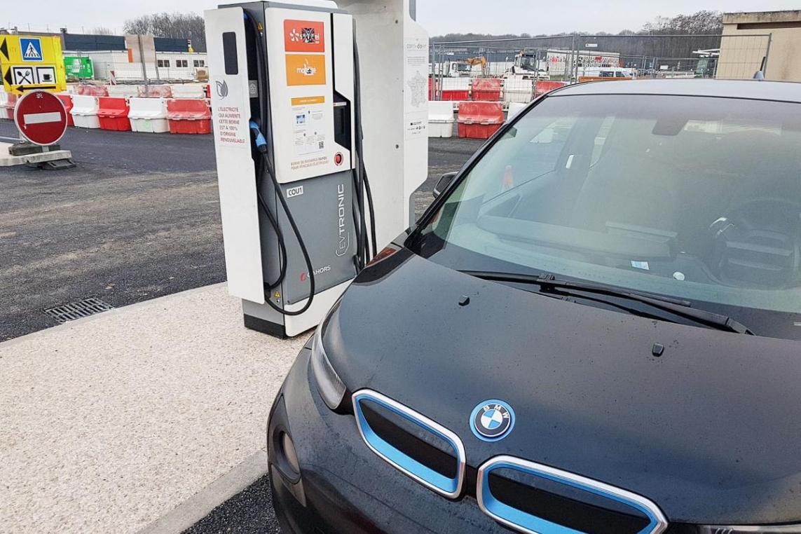 Met De Elektrische Auto Naar Het Zuiden Van Frankrijk Mo