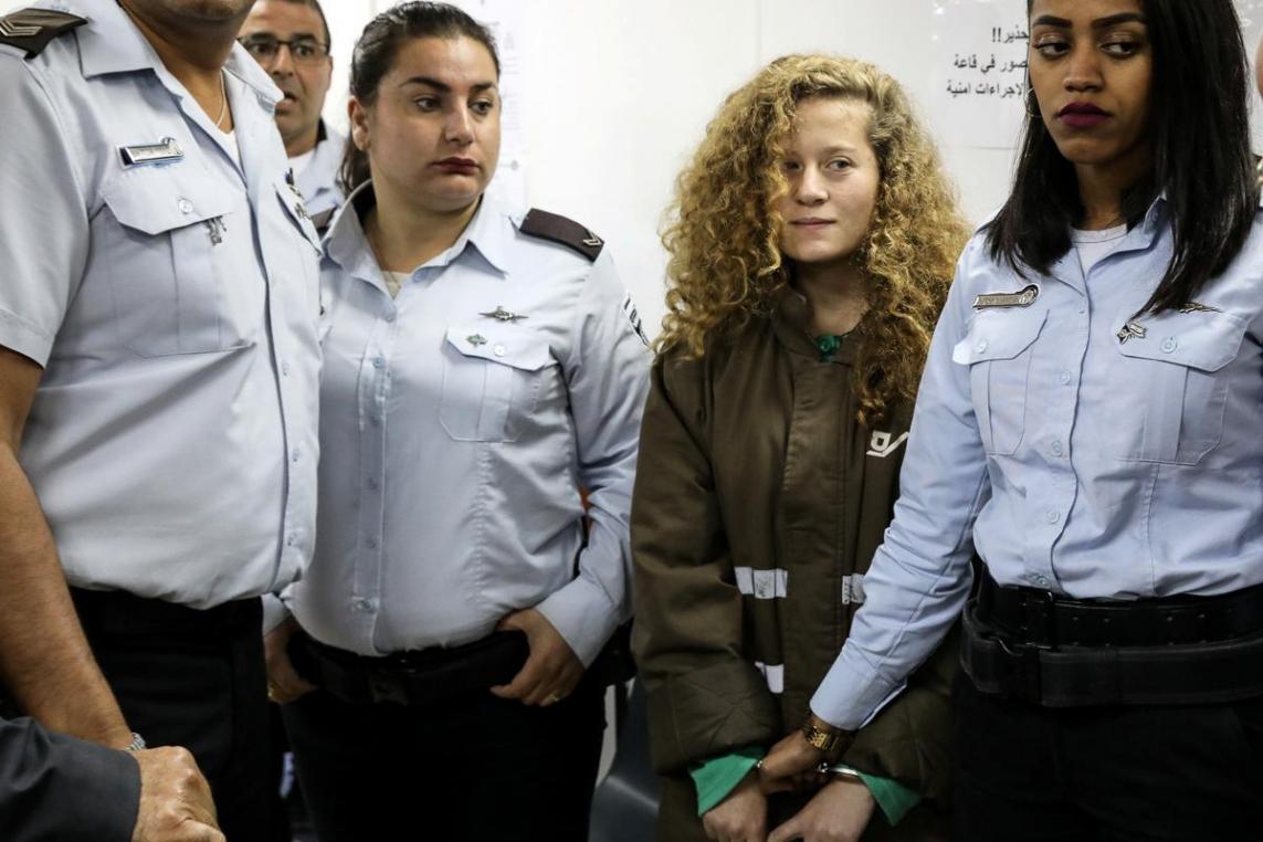 Ahed Tamimi is in de eerste plaats een slachtoffer van de bezetting