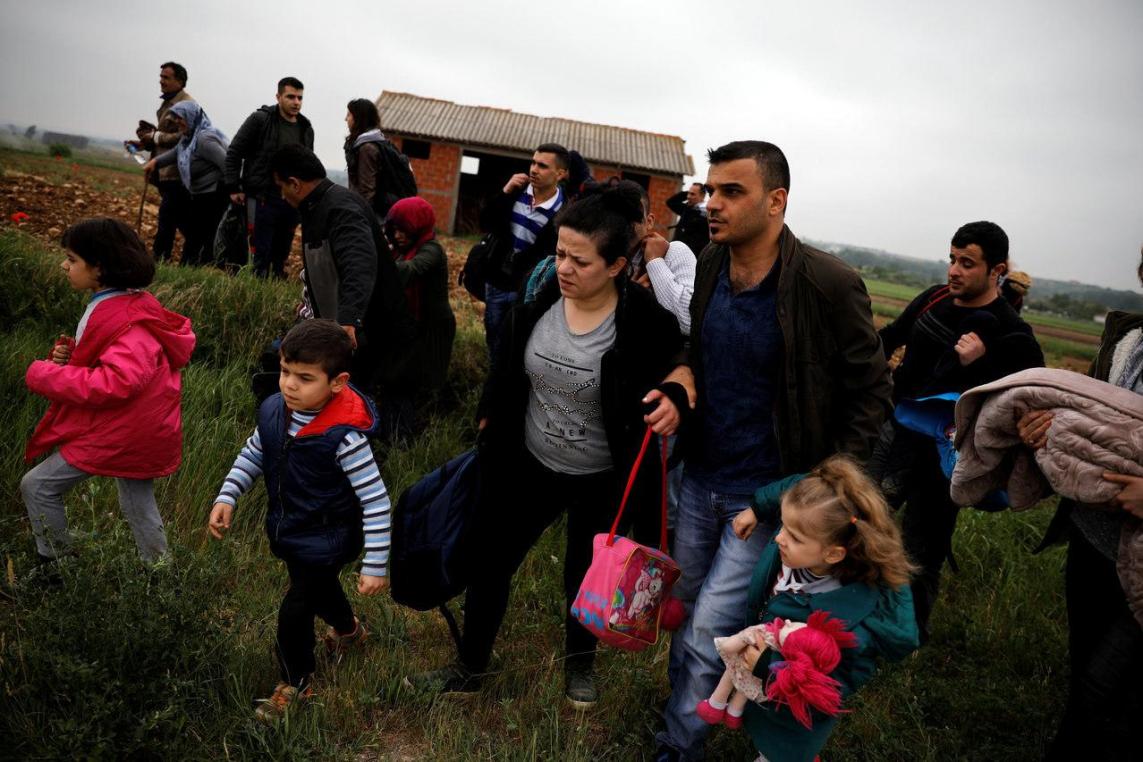 Turkije Verhindert Dat Syrische Vluchtelingen Uit Europa Hun