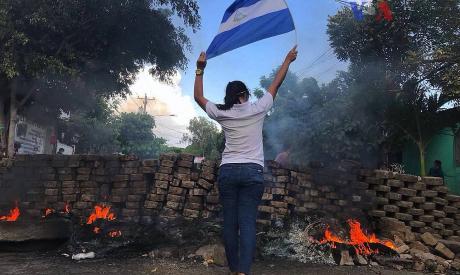 Wikimedia Commons/VOA (https://www.voanoticias.com/a/nicaragua-violencia-protestas-por-reformas-al-seguro-social/4357428.html)