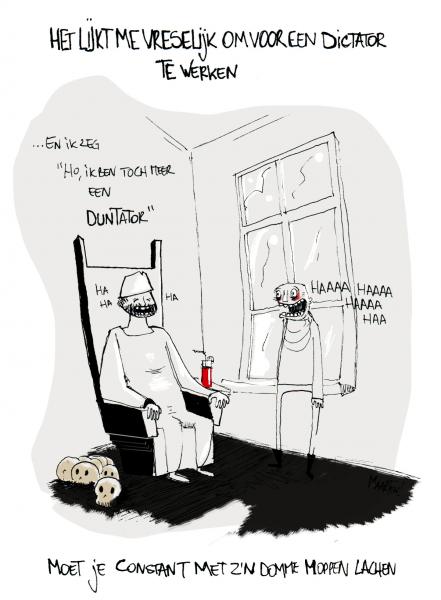 © Dood, verderf & koekjes me melk!