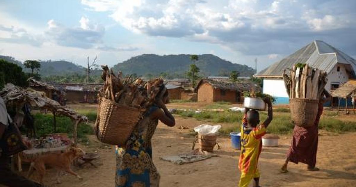 Een Typische Tocht Door Congo Mo